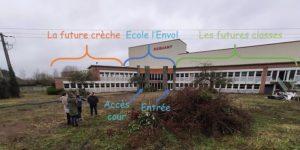 locaux de l'école alternative dans le Nord