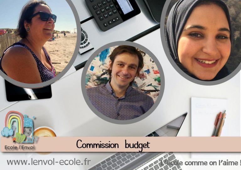 la commission budget école l'envol